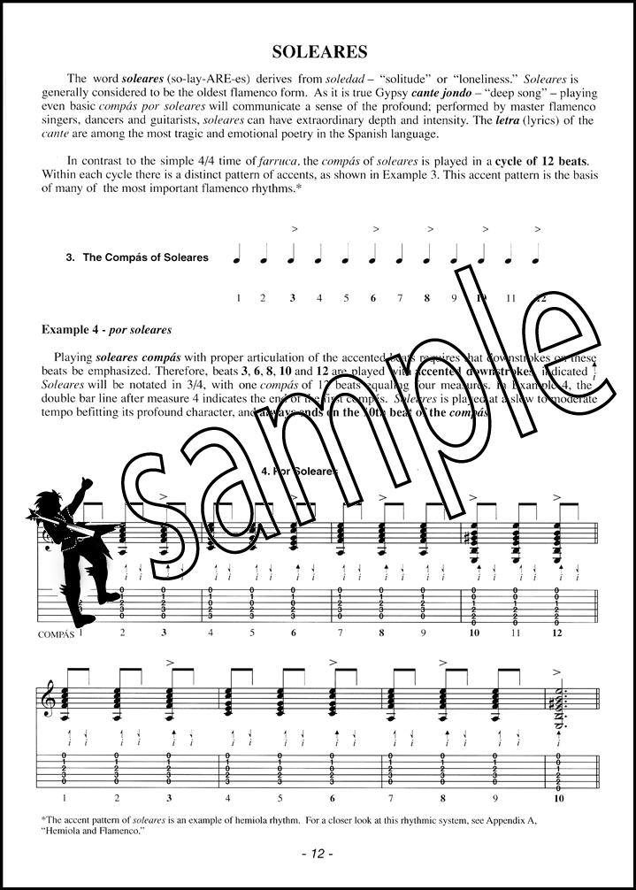 The Keys To Flamenco Guitar Volume One Bookaudio Hamcor
