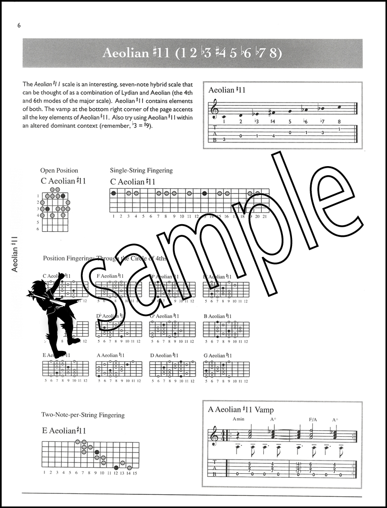The Ultimate Guitar Scale Bible 130 Essential Scales For