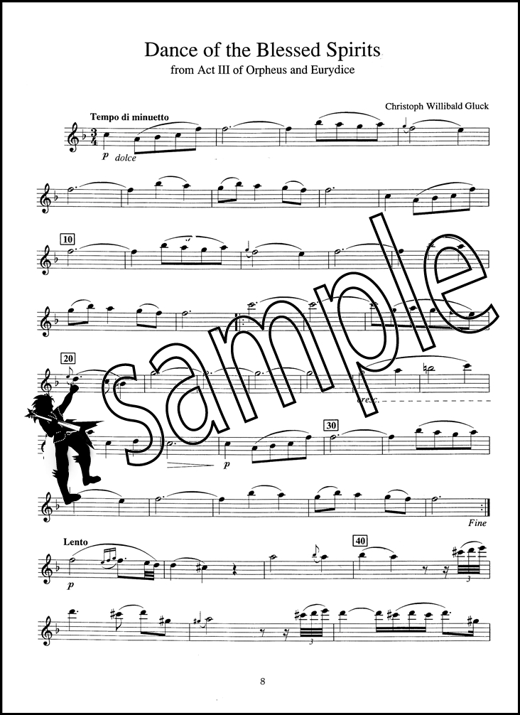 Solo Pieces for the Intermediate Flutist Flute Sheet Music Book ...