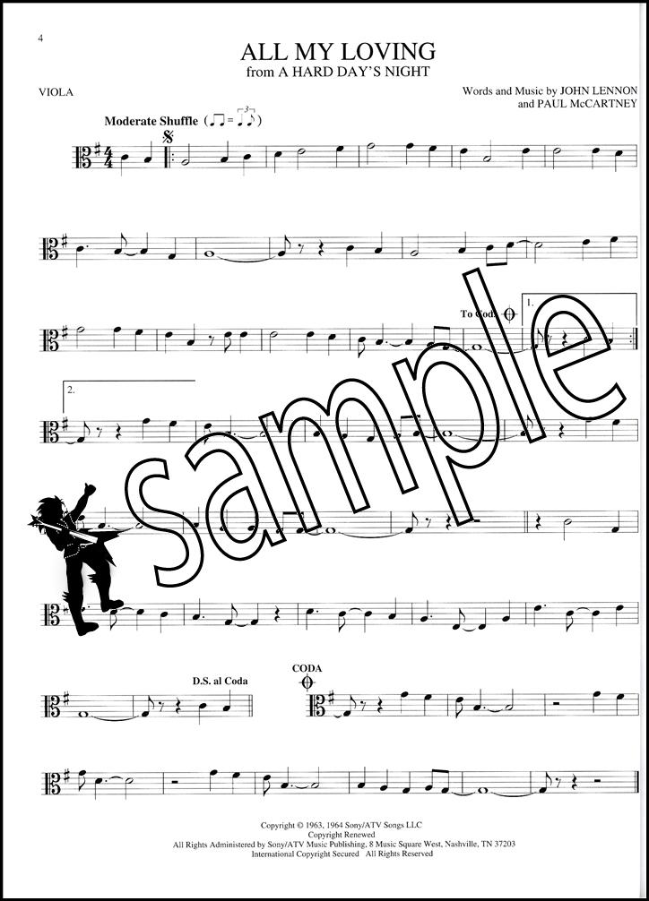 The Big Book of Viola Songs Sheet Music Book 130 Songs Elvis ...