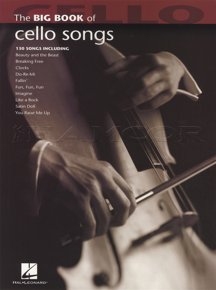 The Big Book of Cello Songs Sheet Music Book 130 Songs Elvis ...