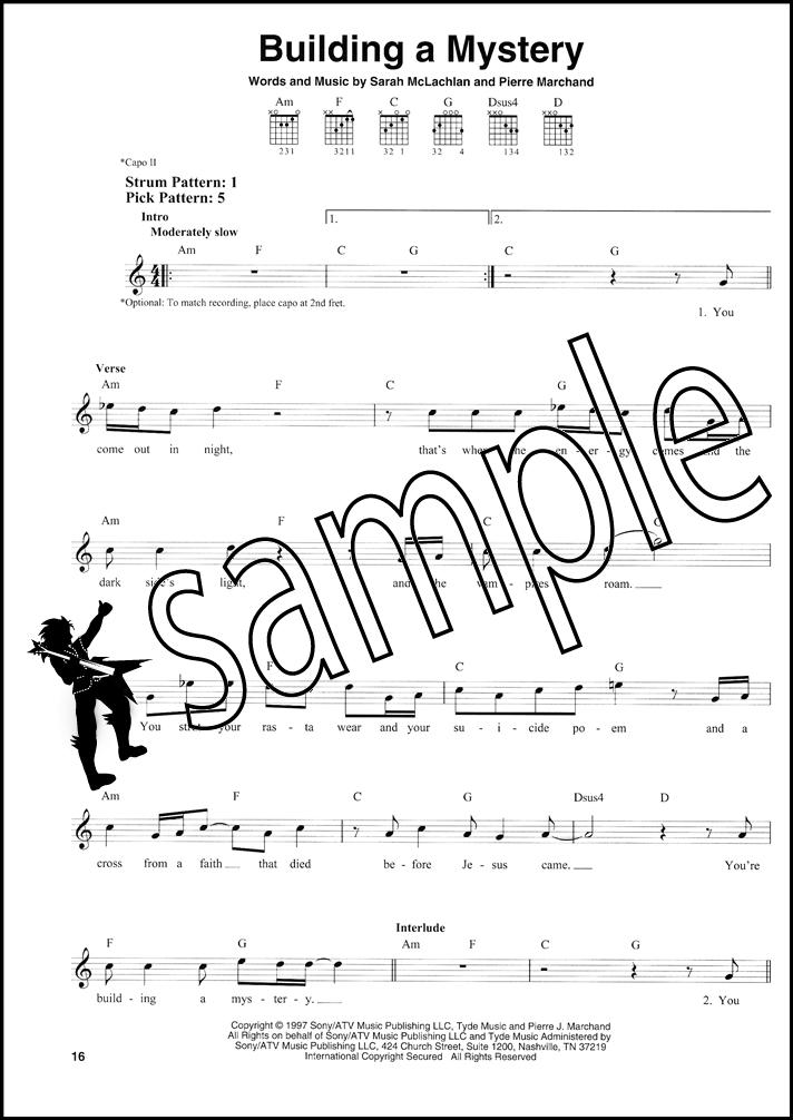 Best Pop Songs For Easy Guitar Chord Melody Songbook Vocals
