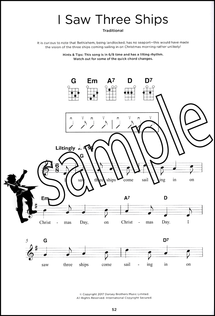 Really Easy Ukulele Bumper Christmas Book Chord Melody Songbook