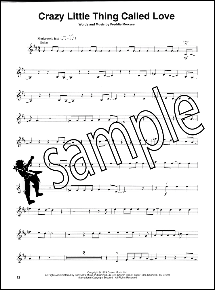 Queen Violin Play Along Sheet Music Book With Audio Bohemian