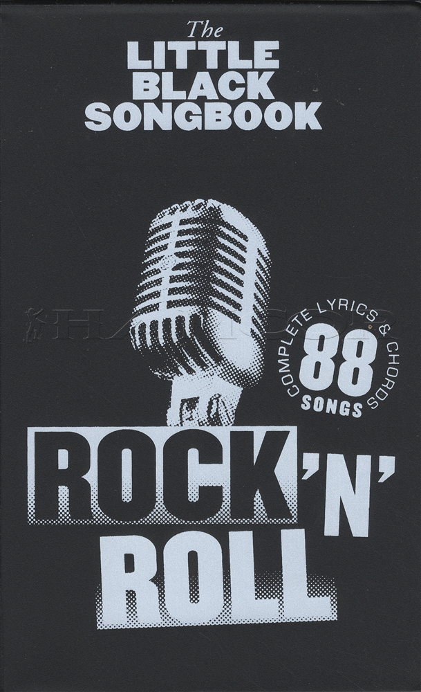 The Little Black Songbook Rock N Roll Guitar Chord Song Book Lyrics ...