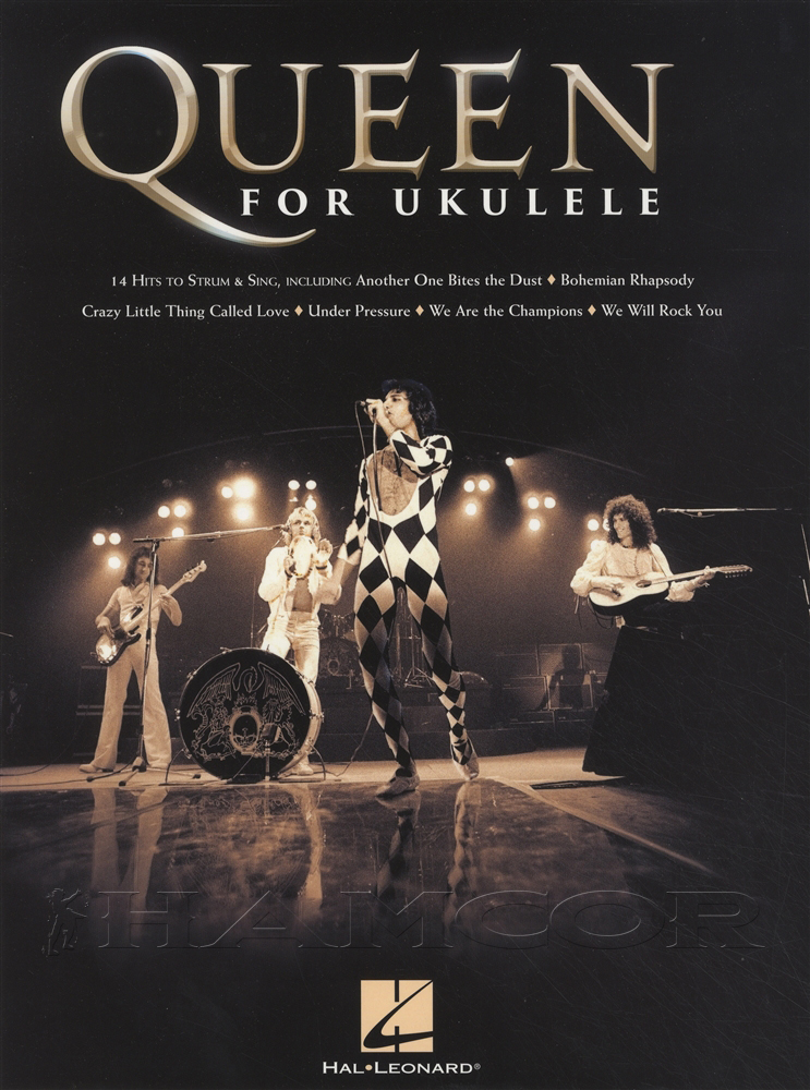 Queen For Ukulele Chord Melody Songbook 14 Hits Sing Strum