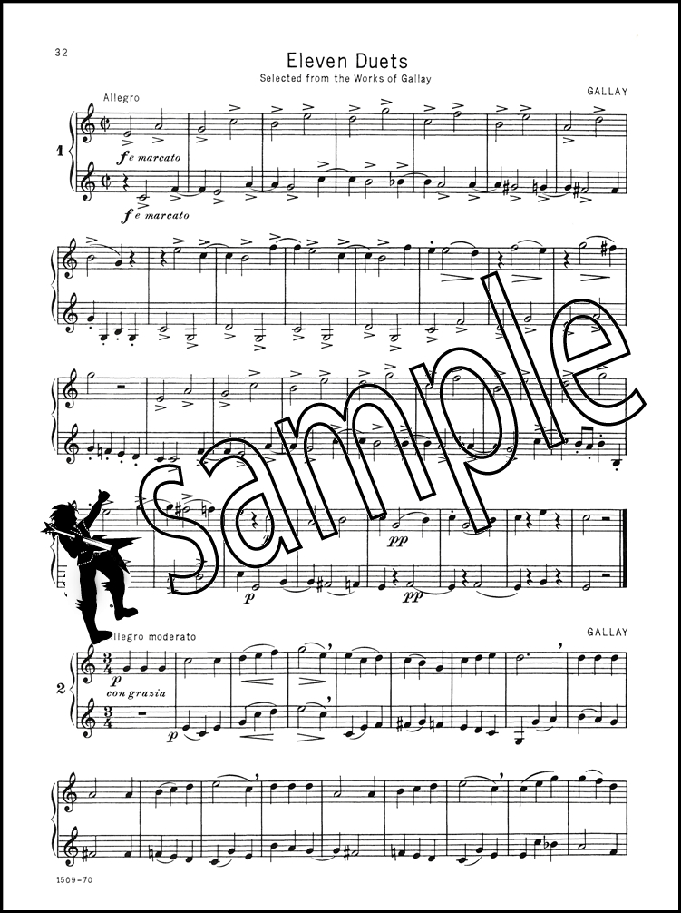 All Music Chords french horn sheet music : Selected Duets for French Horn Volume 1 Rubank Sheet Music Book ...