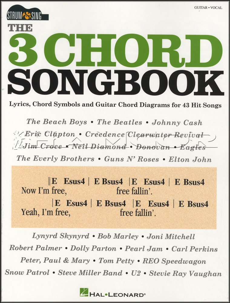The 3 Chord Songbook Strum Sing Guitar Beach Boys Beatles Eric