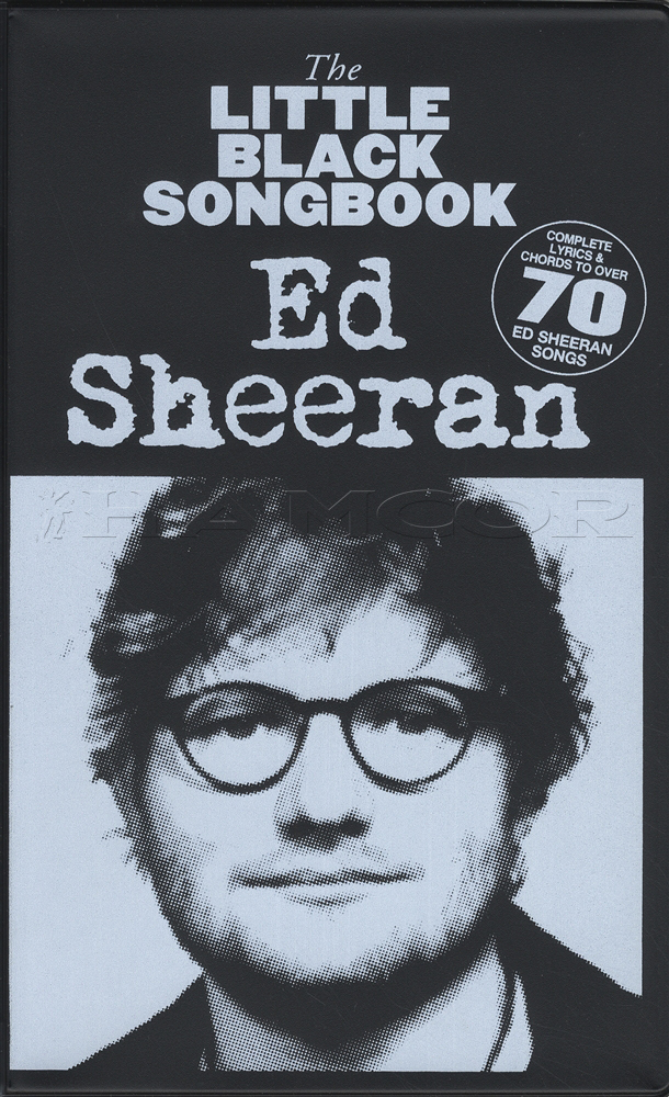 Ed Sheeran The Little Black Songbook Guitar Chord Song Book A Team