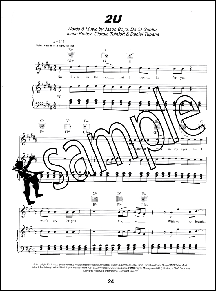 Hits Of The Year Piano Vocal Guitar Sheet Music Book Ed Sheeran