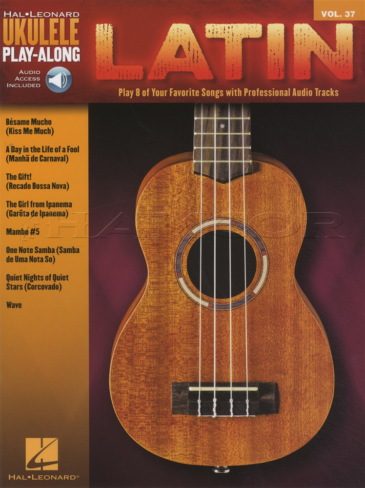 Guitar besame mucho guitar chords and lyrics : Latin Ukulele Play-Along Chord & Melody Songbook with Audio Mambo ...