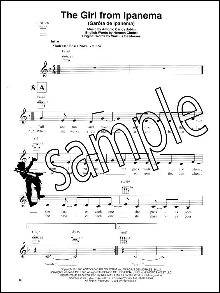 Latin Ukulele Play Along Chord Melody Songbook With Audio Mambo 5