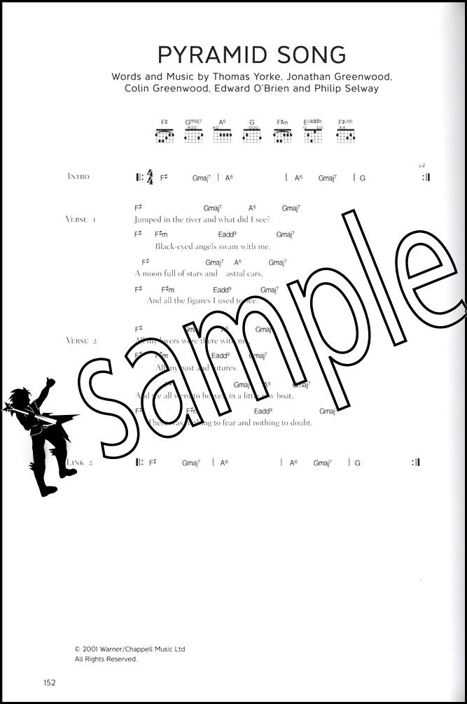 Radiohead Complete Guitar Chord Songbook Hamcor