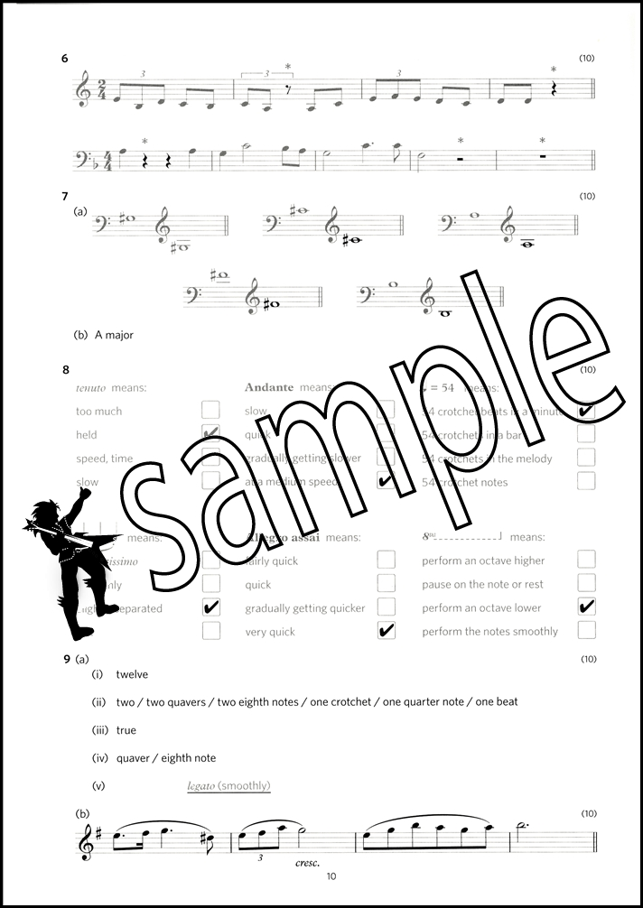 Image Result For Abrsm Grade Music Theory In Practice Answers