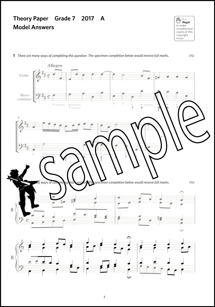 Image Result For Abrsm Music Theory In Practice Grade Answers