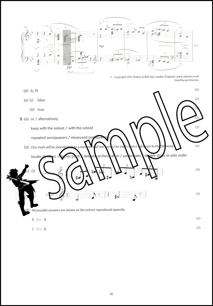 Image Result For Abrsm Theory Of Music Exams Grade Answers