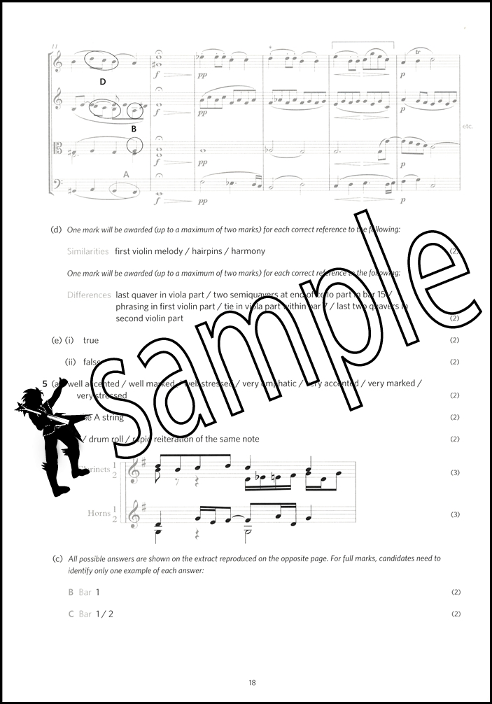 Image Result For Music Theory In Practice Model Answers Grade