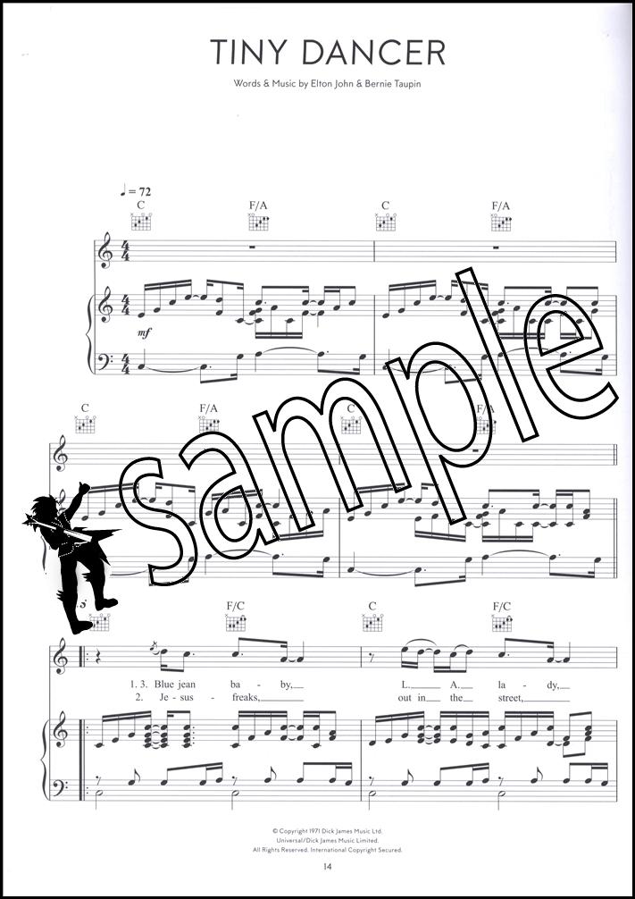 Elton John Diamonds Piano Vocal Guitar Hamcor