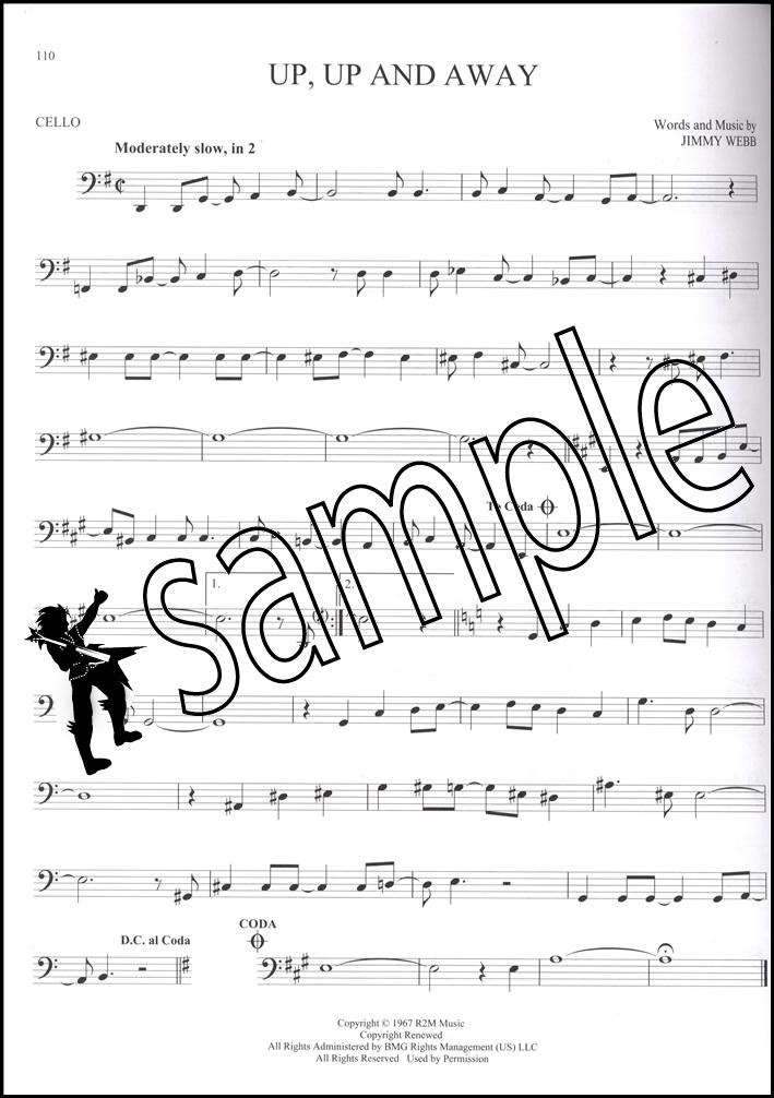 Song sheet music popular songs : 101 Popular Songs for Cello Sheet Music Book Michael Jackson Billy ...
