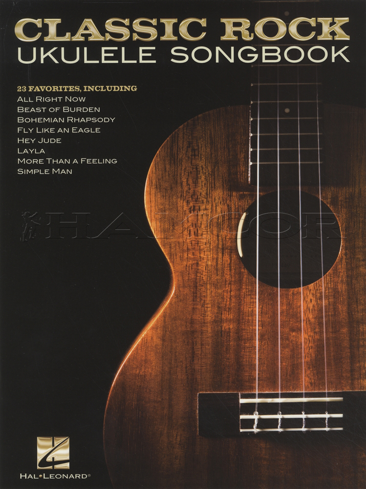 Classic Rock Ukulele Songbook Chord Melody Eagles The Who Free