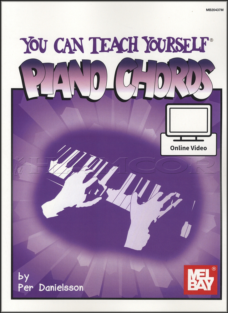 You Can Teach Yourself Piano Chords Book With Video Music Chord Per