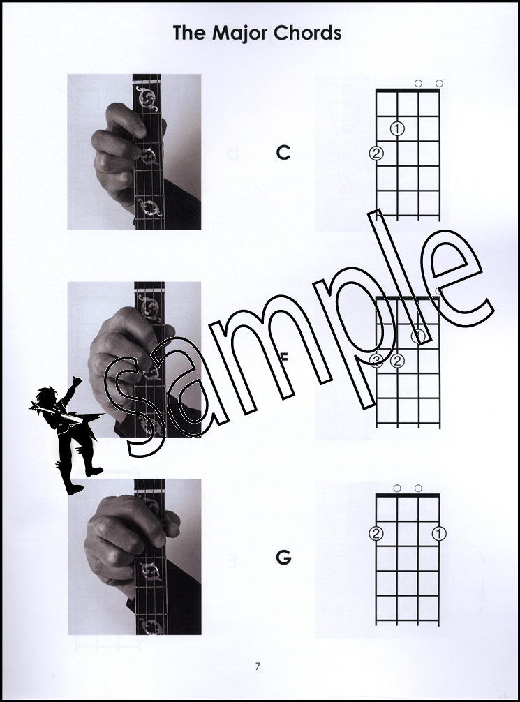 Left-Handed Tenor Banjo Chords 4-String Chord Book Mandola Photos ...