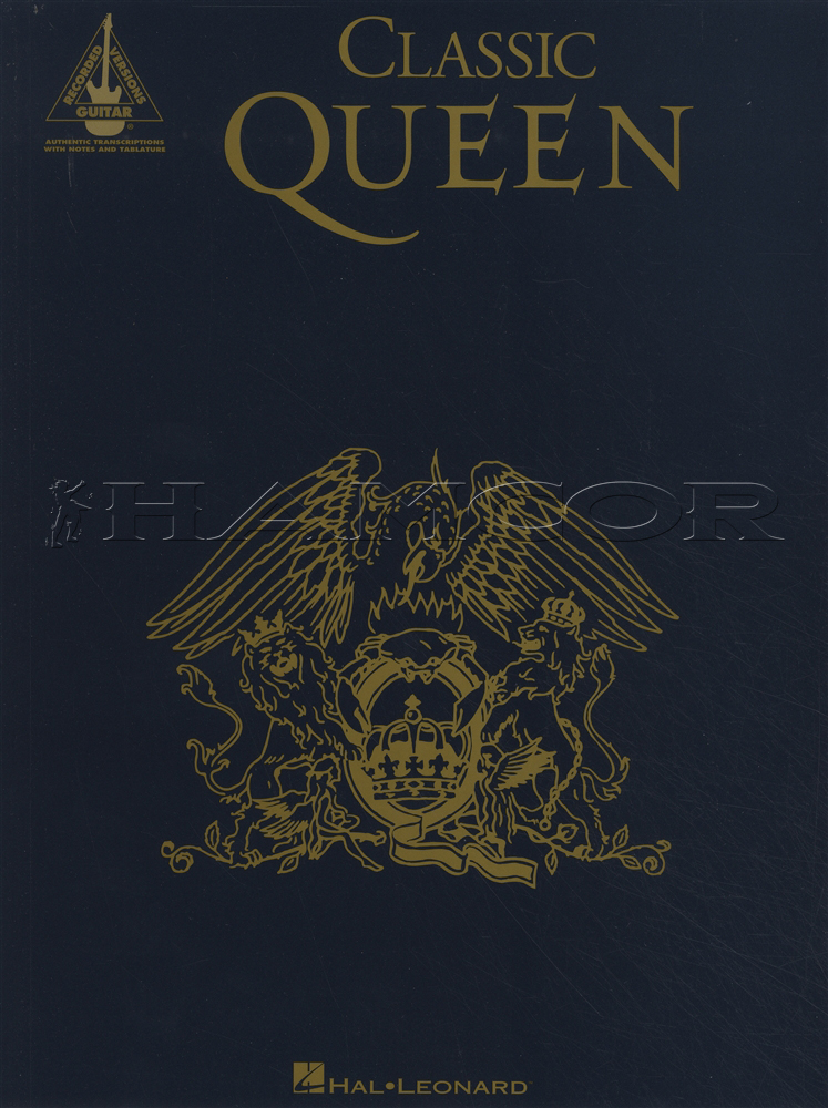 Classic Queen Guitar Recorded Versions Tab Music Book Bohemian