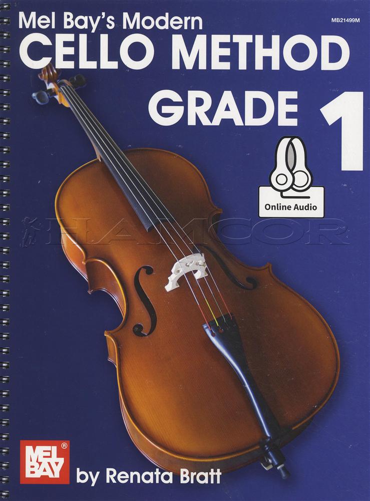 /Mel Bay's Modern Cello Method Grade 1 Book/Audio | Hamcor