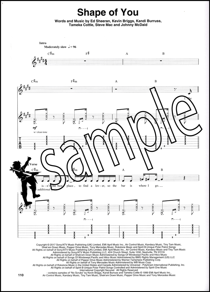 ed sheeran guitar tab book pdf