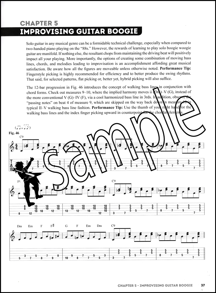 How To Play Boogie Woogie Guitar Bookvideo Hamcor