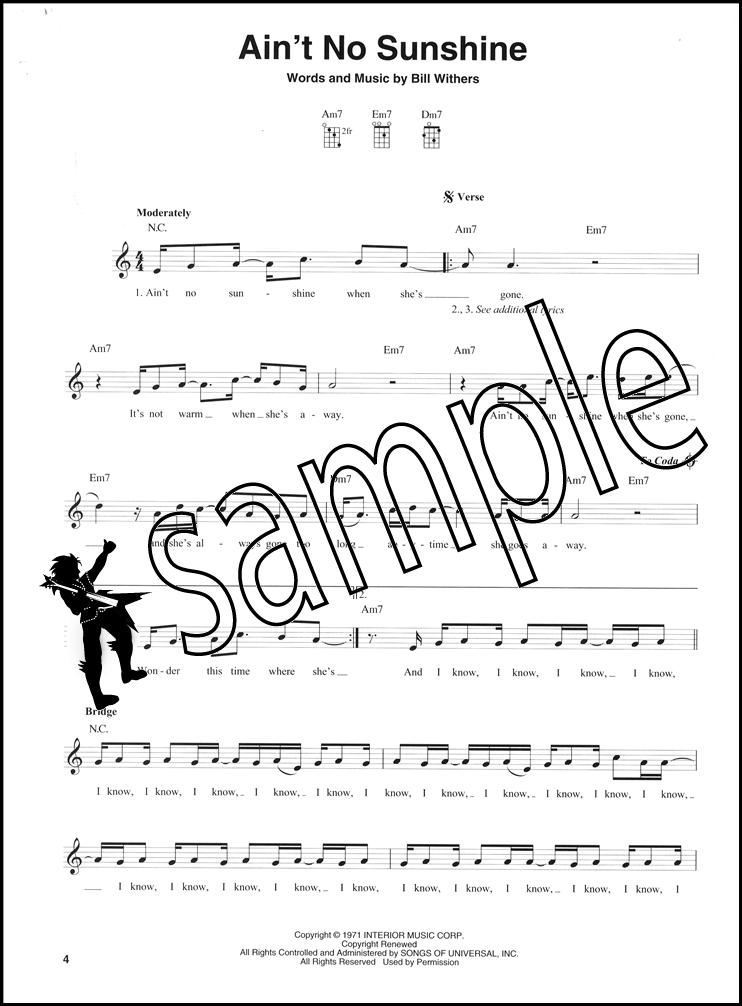 3 Chord Songs for Mandolin Chord & Melody Songbook Jimi Hendrix ...
