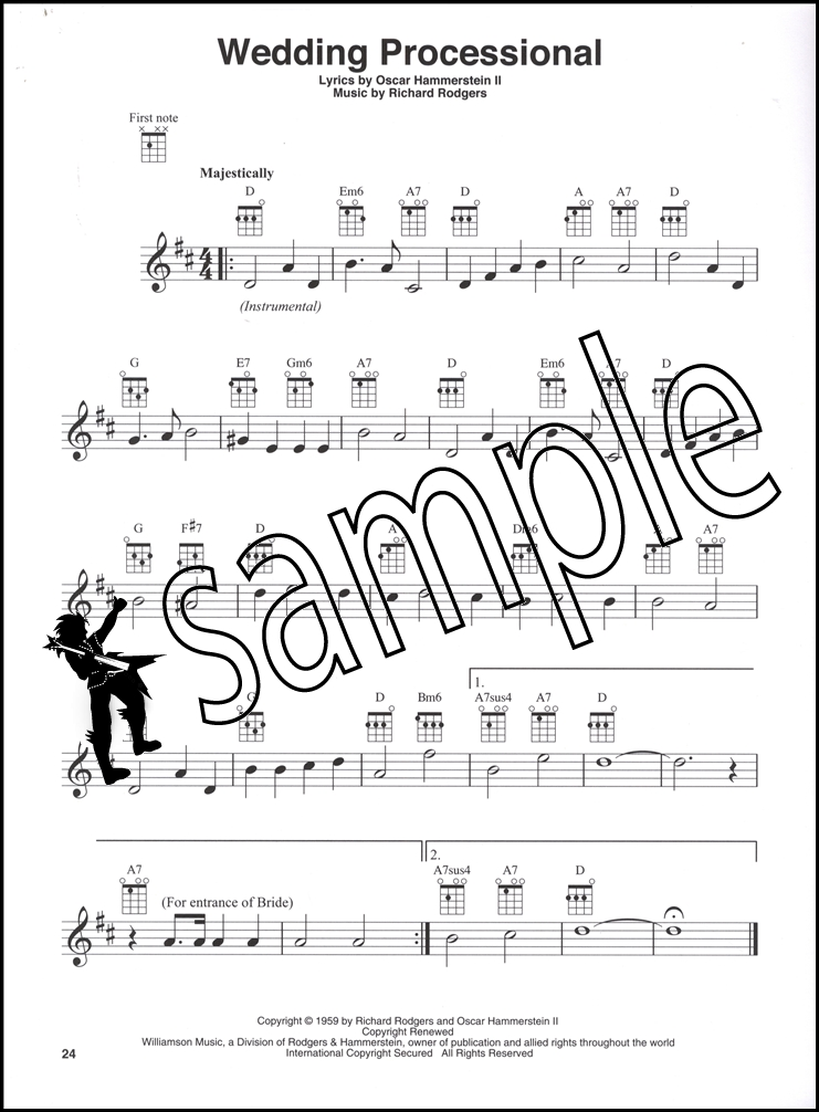 The Sound Of Music For Ukulele Chord Melody Songbook Maria Do Re Mi