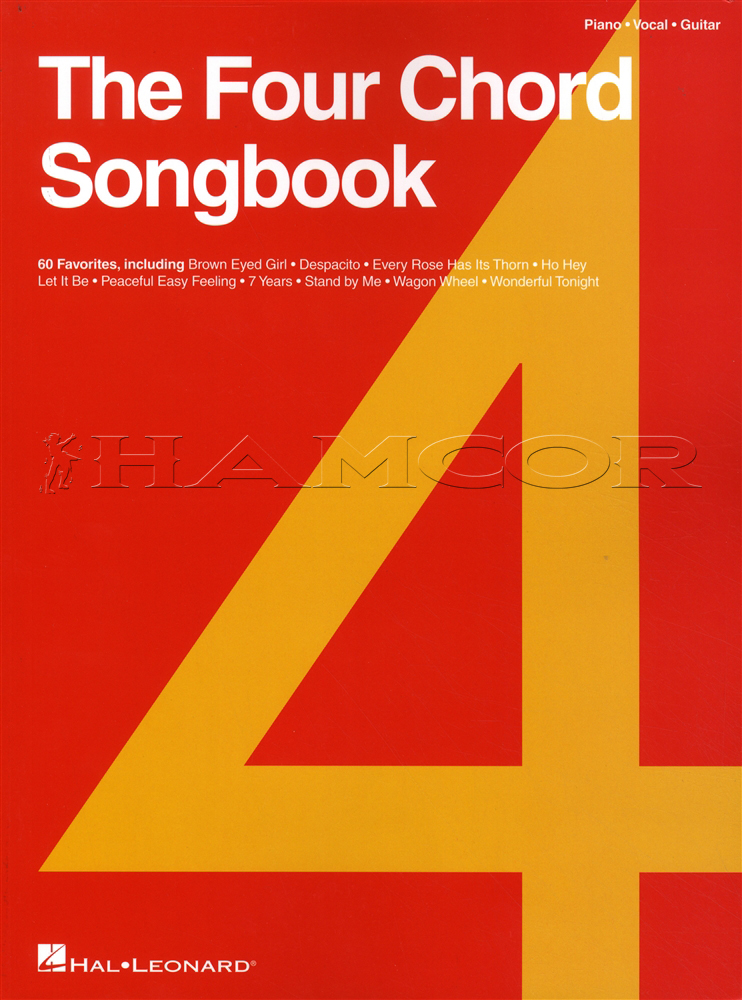 The Four Chord Songbook Piano Vocal Guitar Hamcor