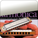 Books with Harmonica