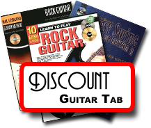 Discount Guitar Tab