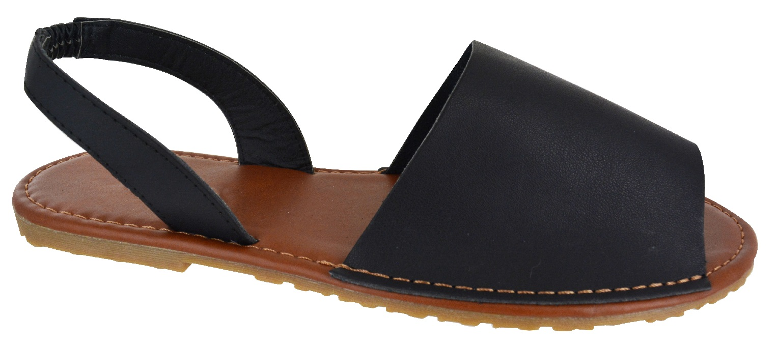 Flat Black Womens Shoes Uk