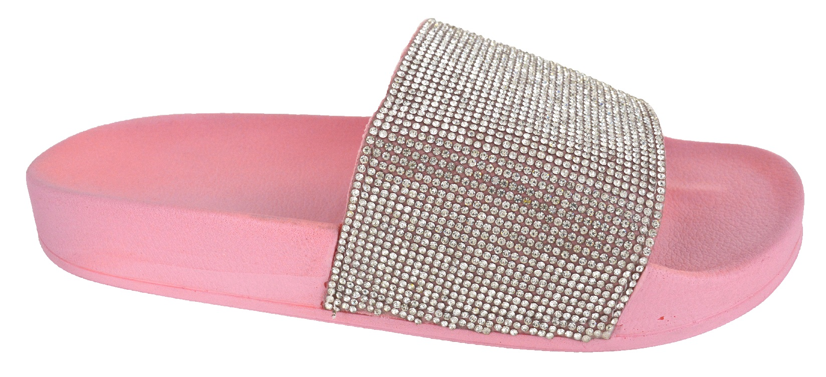 LADIES-WOMENS-SLIP-ON-DIAMANTE-BLING-SLIDERS-SLIPPER-SPARKLY-SANDALS-SHOES-SIZE thumbnail 5