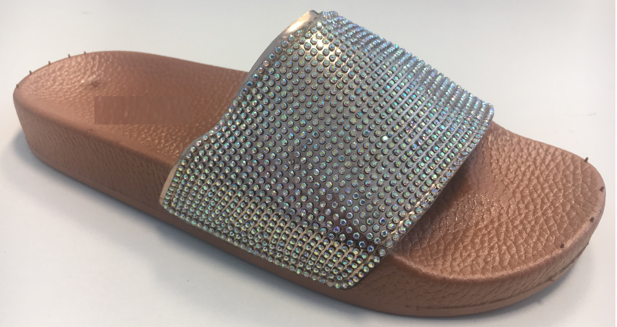 LADIES-WOMENS-SLIP-ON-DIAMANTE-BLING-SLIDERS-SLIPPER-SPARKLY-SANDALS-SHOES-SIZE thumbnail 7
