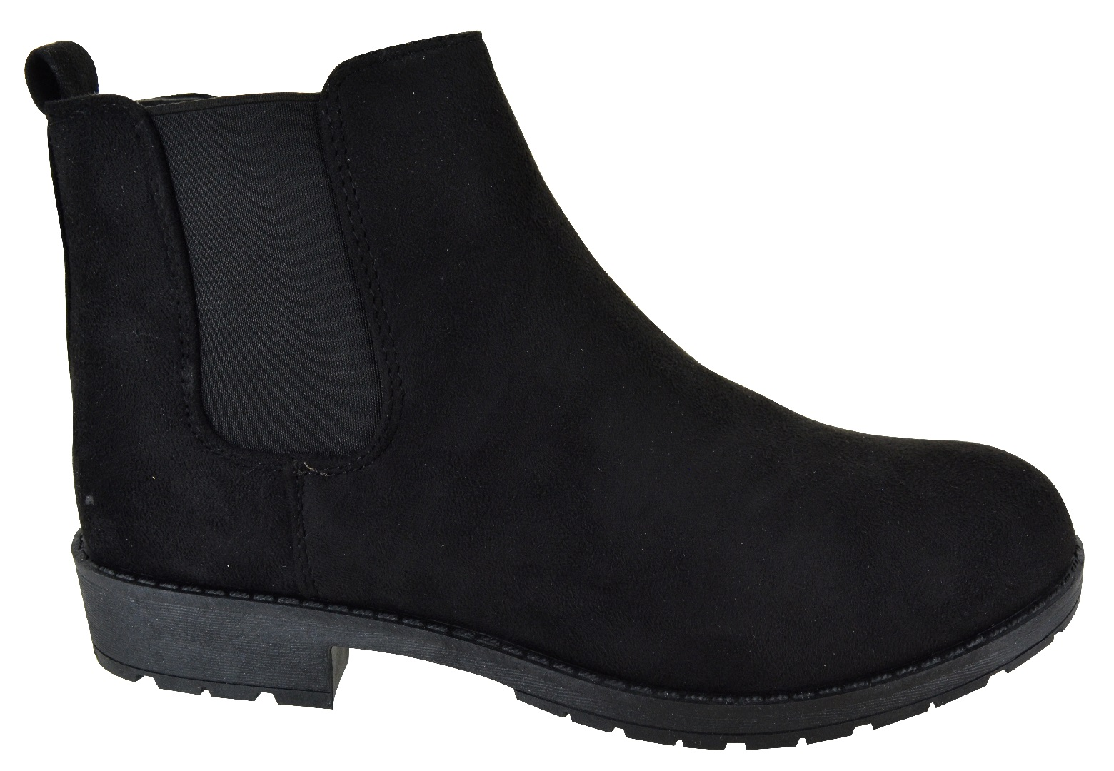 LADIES-WOMENS-CHELSEA-DEALER-SLIP-ON-FLAT-ANKLE-CAUSAL-LOW-HEEL-SHOES-BOOTS-SIZE thumbnail 3