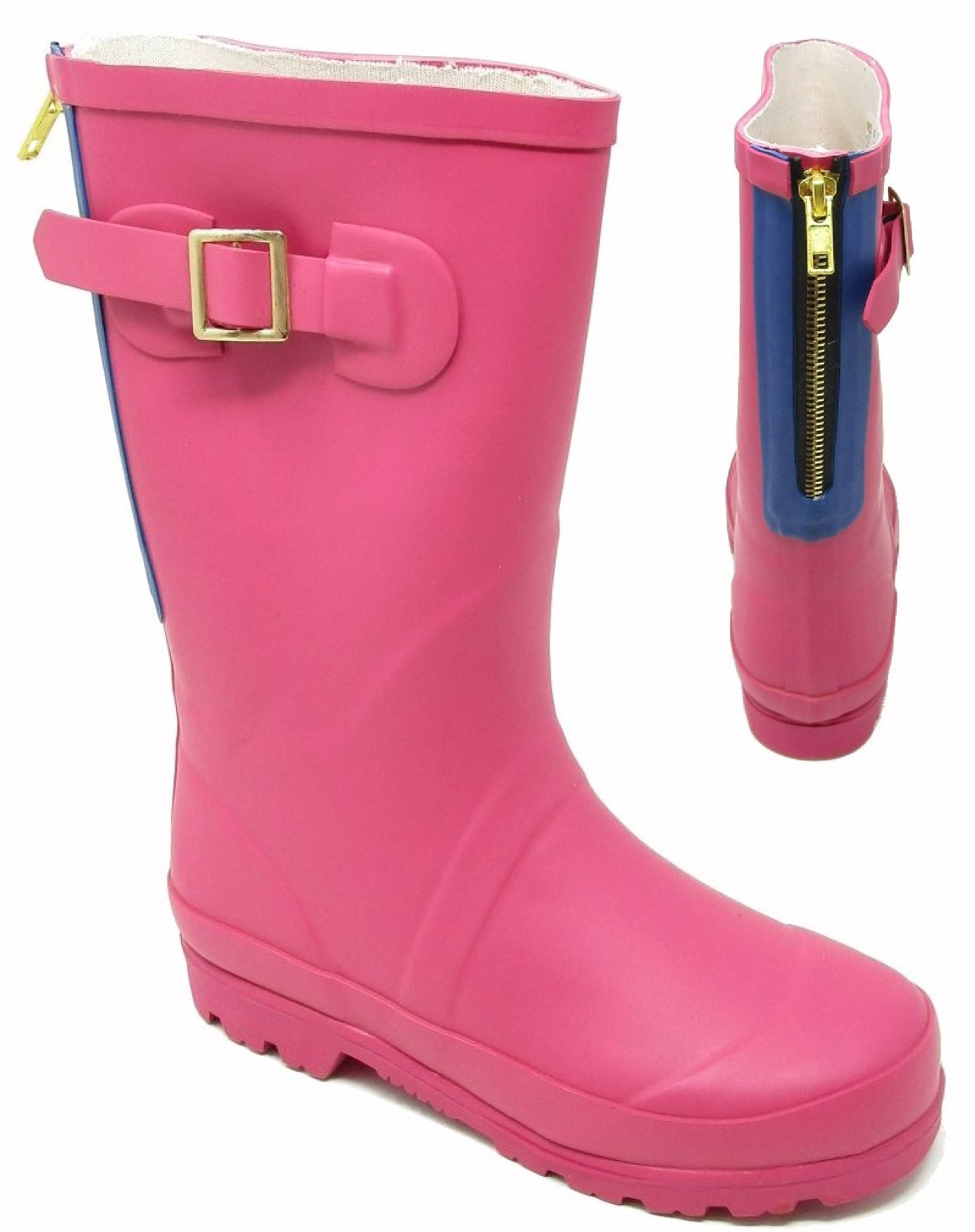 kids FIRST wellington boot pink size 13