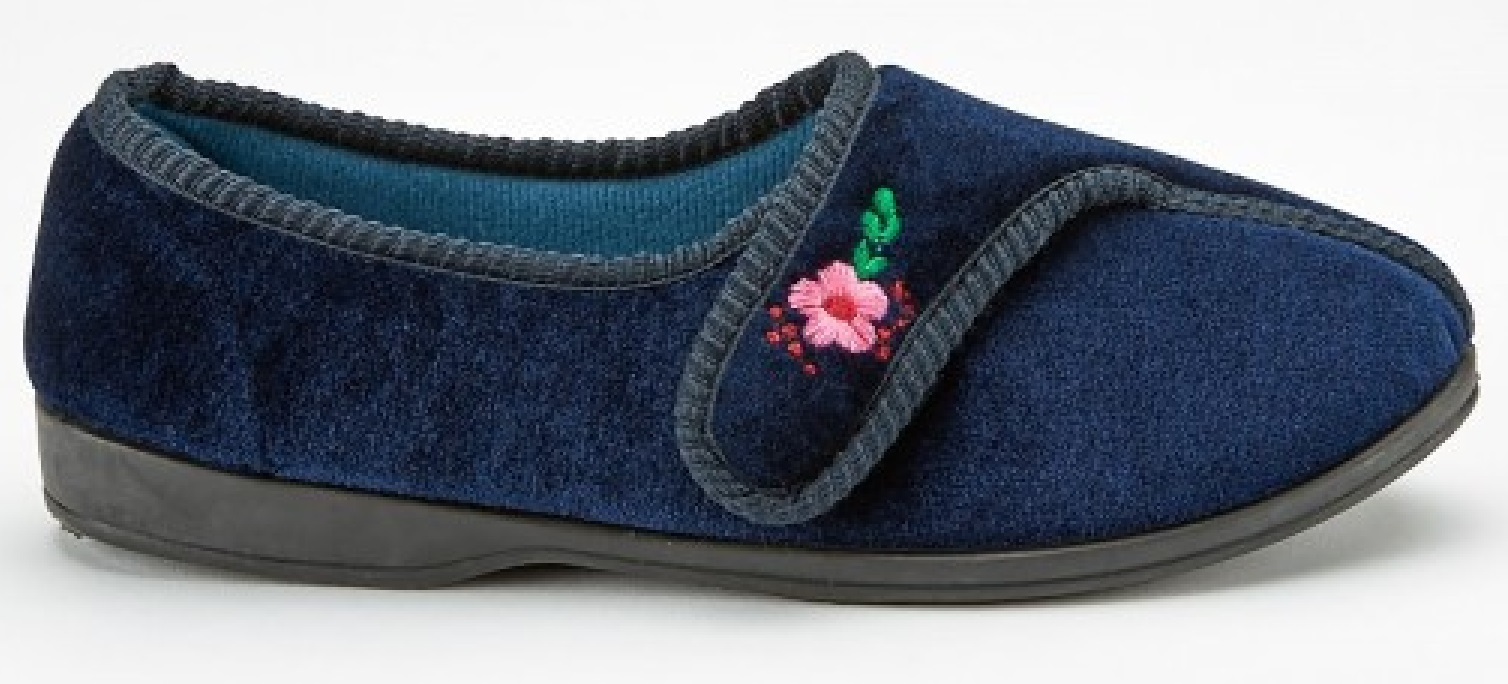 7c3dc9f1145 LADIES WOMENS SOFT WARM OUTDOOR MOCCASINS VELOUR SLIPPERS MULES ...