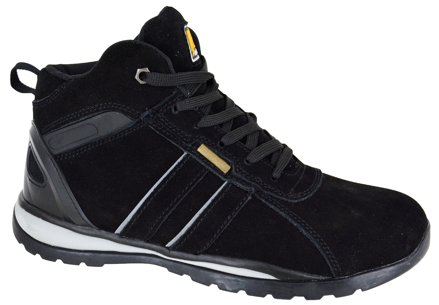 MENS-LIGHTWEIGHT-SAFETY-STEEL-TOE-CAP-WORK-TRAINER-HI-TOP-TRAINERS-SHOES-SZ-7-11 thumbnail 2