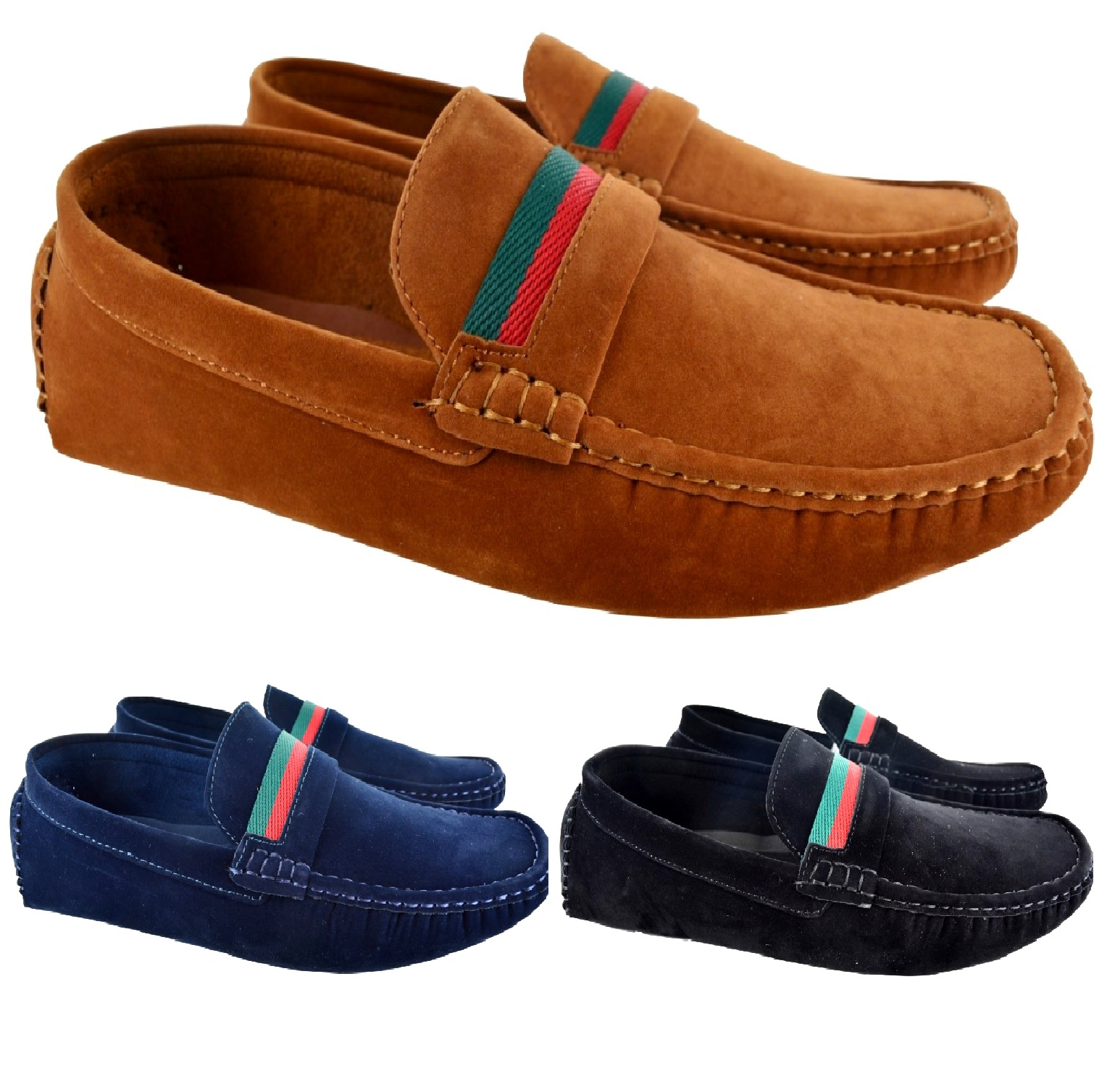 8197fae8d2c Details about MENS NEW FLAT SMART LOAFERS MOCCASINS SLIP ON DRIVING PARTY  CASUAL SHOES UK SIZE
