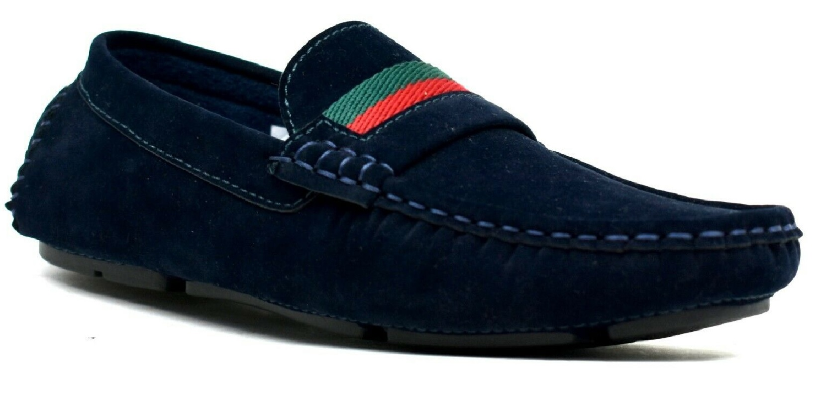 MENS-SLIP-ON-BOYS-CASUAL-DESIGNER-MOCASSIN-BOAT-LOAFERS-DRIVING-DESK-SHOES-SIZE thumbnail 5