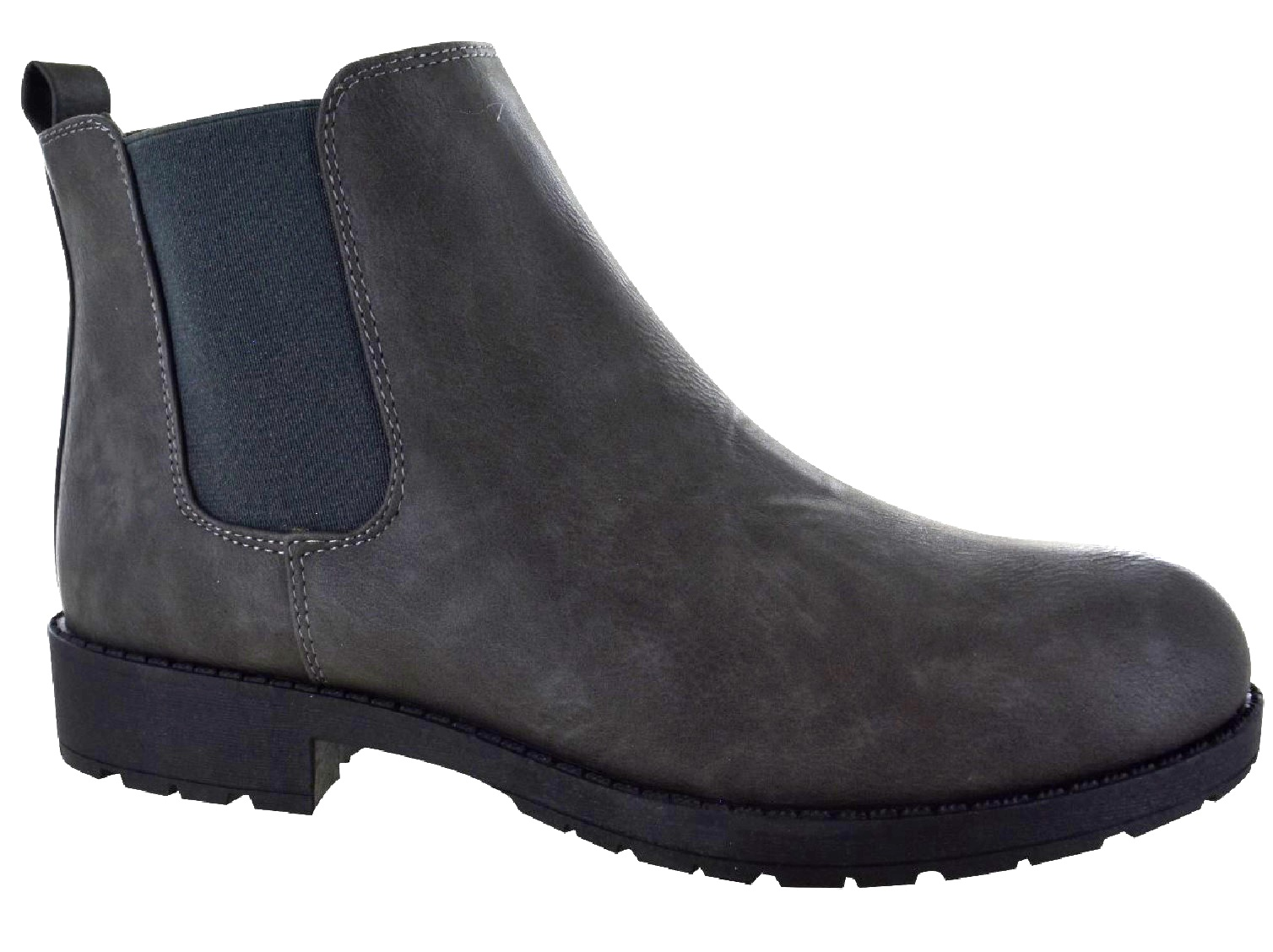 LADIES-WOMENS-CHELSEA-DEALER-SLIP-ON-FLAT-ANKLE-CAUSAL-LOW-HEEL-SHOES-BOOTS-SIZE thumbnail 7
