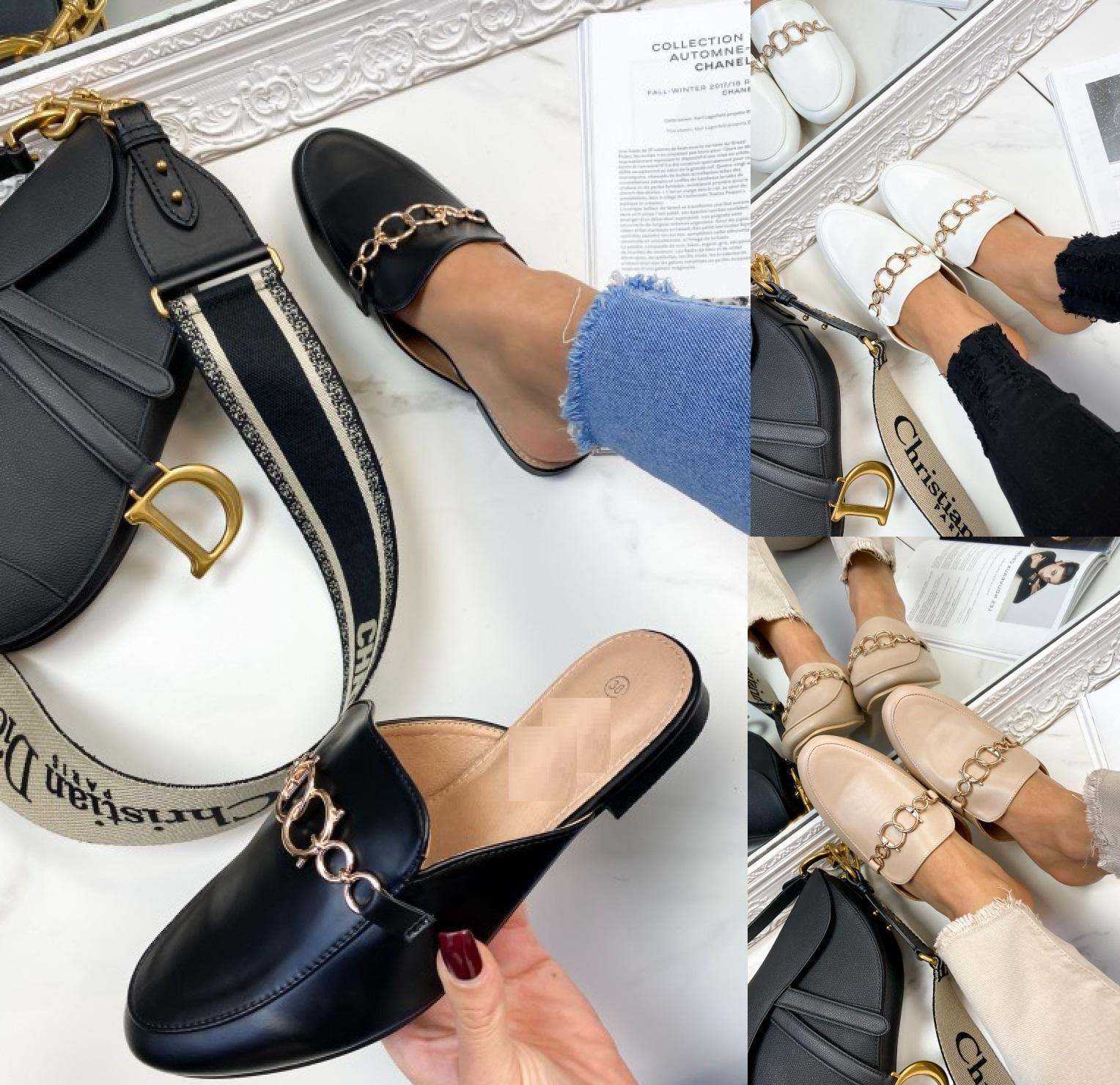 Femme Femmes Été à Enfiler Confortable Flats Boucle curseurs Mules Sandales Chaussures Taille