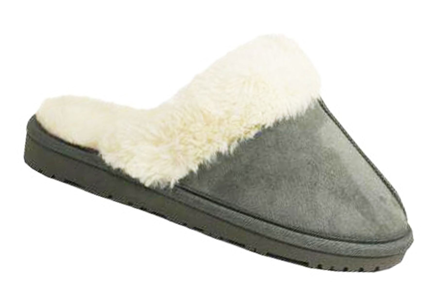 Ladies Womens Comfy Fluffy Faux Fur Flip Flop Slippers size 3-8 Perfect Gift