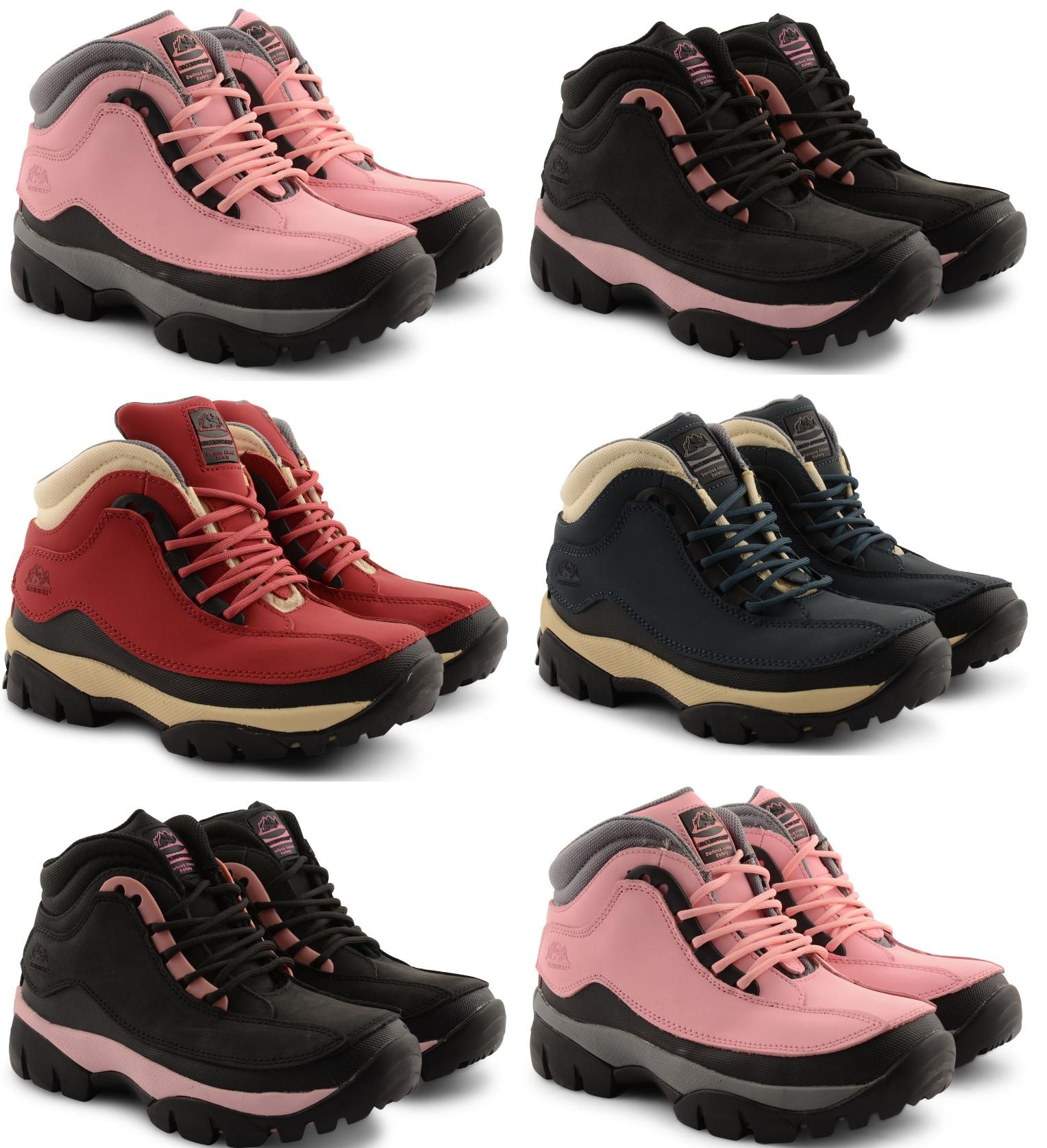 Mujer puntera de acero zapatillas groundwork safety - Botas de trabajo ...