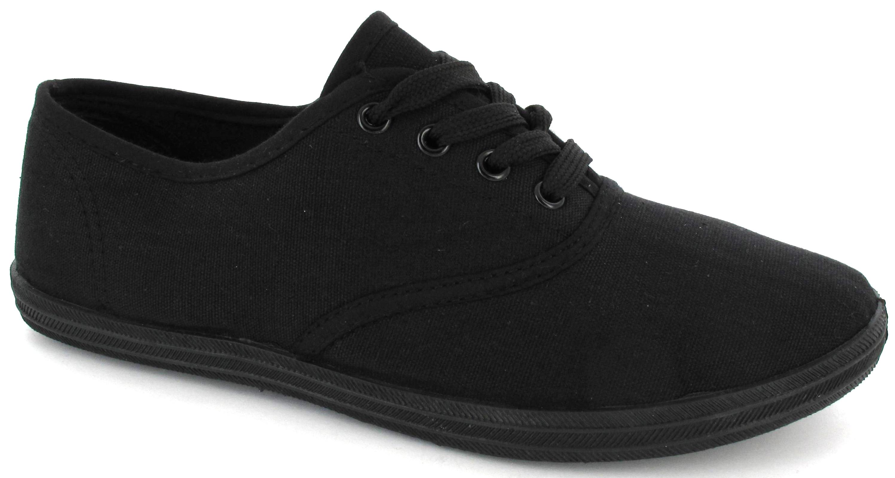 Womens Black Flat Shoes Size
