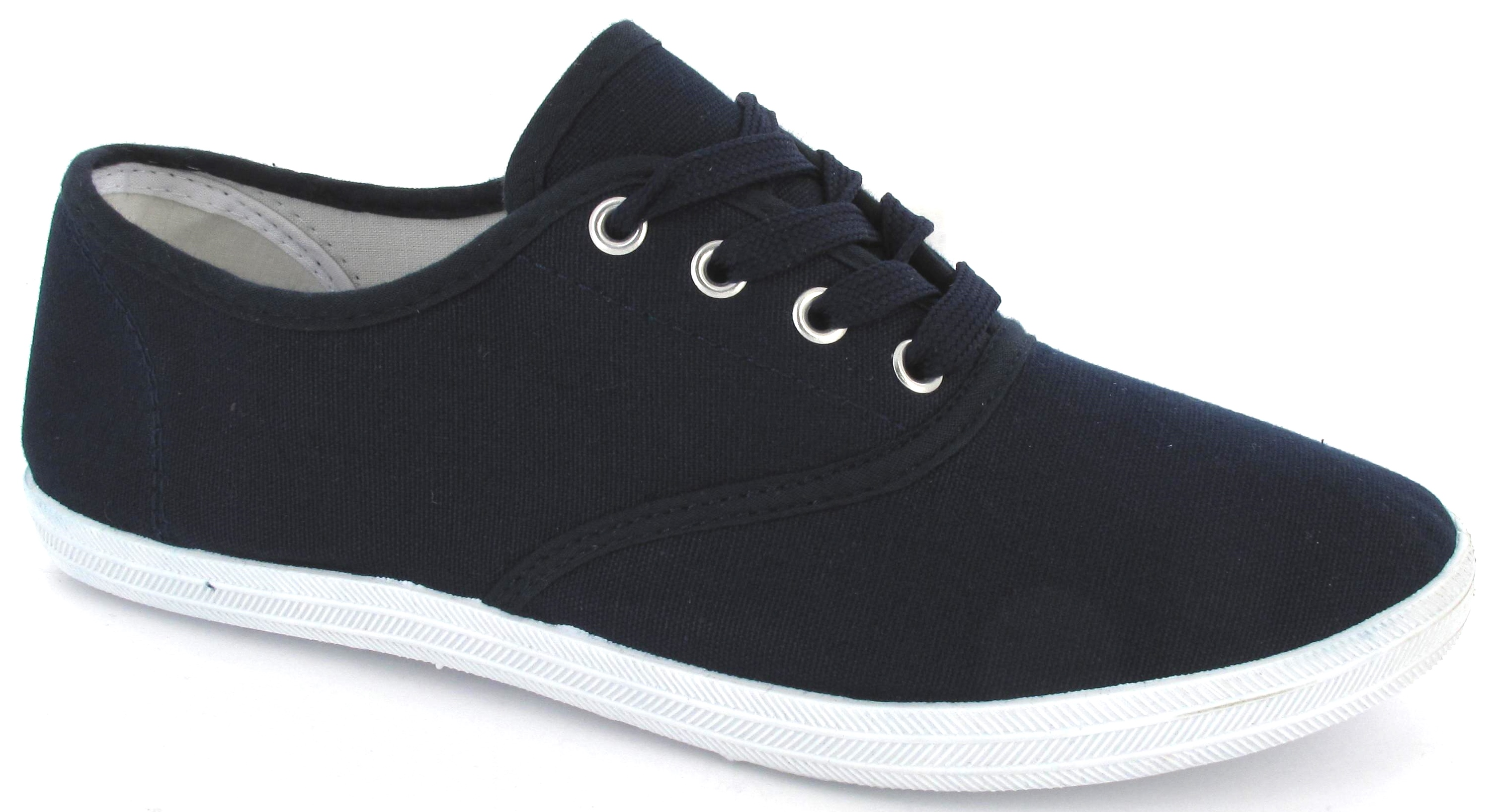 Everyone needs a pair of plimsolls for their shoe collection, and when you're not in your high heels, a pair of cute lace-up shoes always does the trick. Choose from your favourite brands like Converse and Vans, with classic black and white canvas shoes to slip on plimsolls and more.
